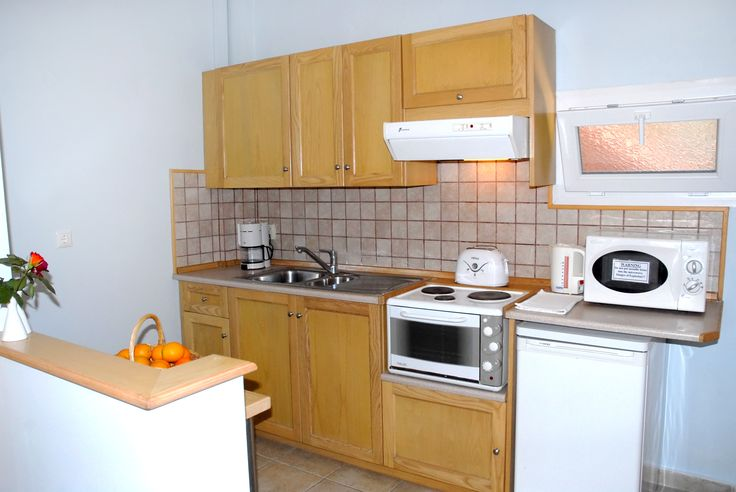 Spiti Prifti One Bedroom Apartment. Kitchen Area