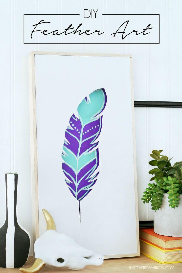 how to make inexpensive wall art