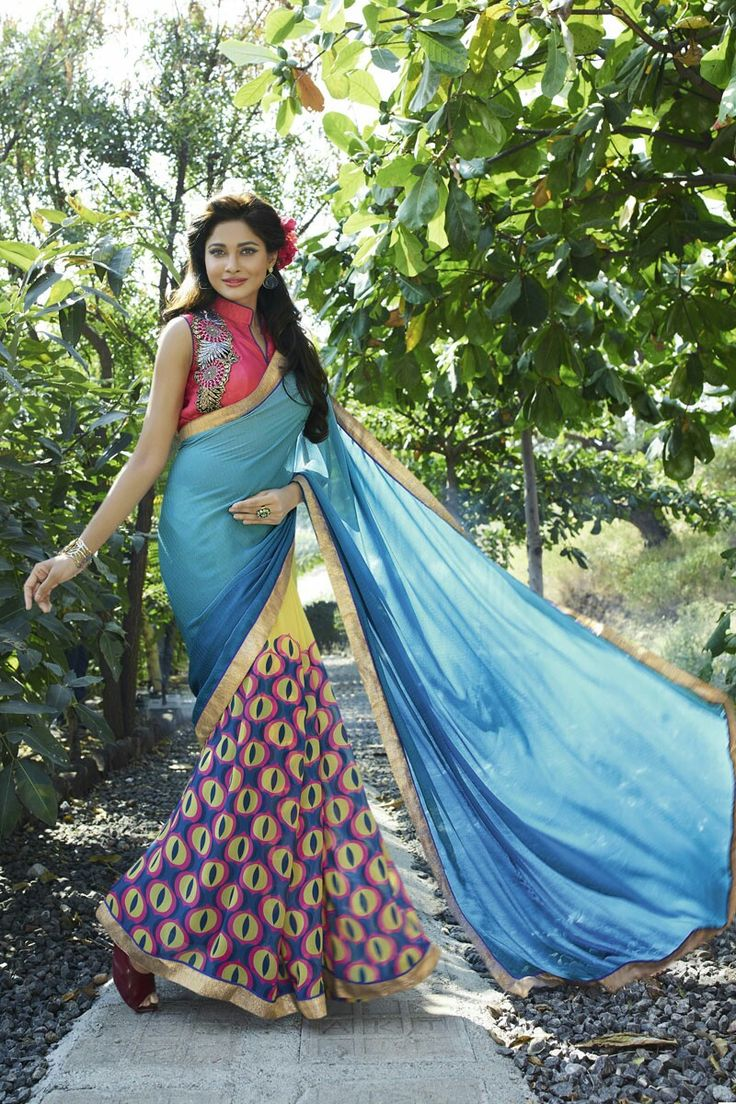 11 best Printed Sarees Under Rs.999 from Shaily Retails images on ...
