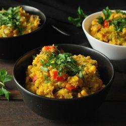 Zdrowy obiad, czyli kasza jaglana z warzywami