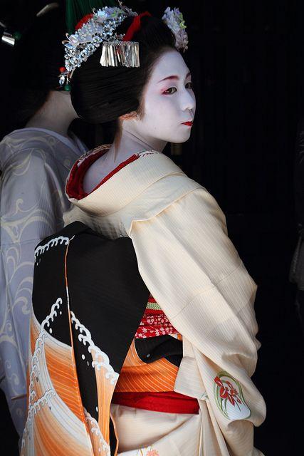 Kimono by Teruhide Tomori (very busy), via Flickr