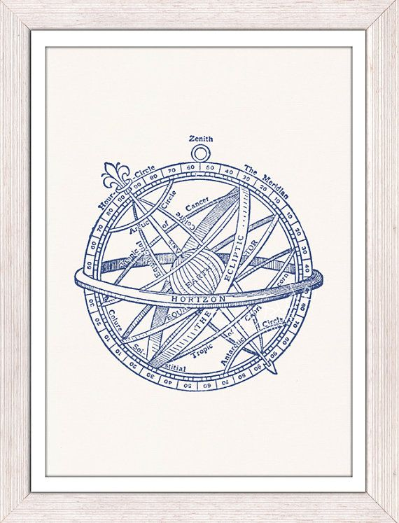 Compass, Nautical prints and Poster vintage on Pinterest
