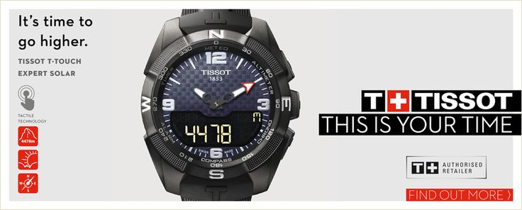 TISSOT Swiss Watches since 1853 – Innovators by tradition | ΤΣΑΛΔΑΡΗΣ