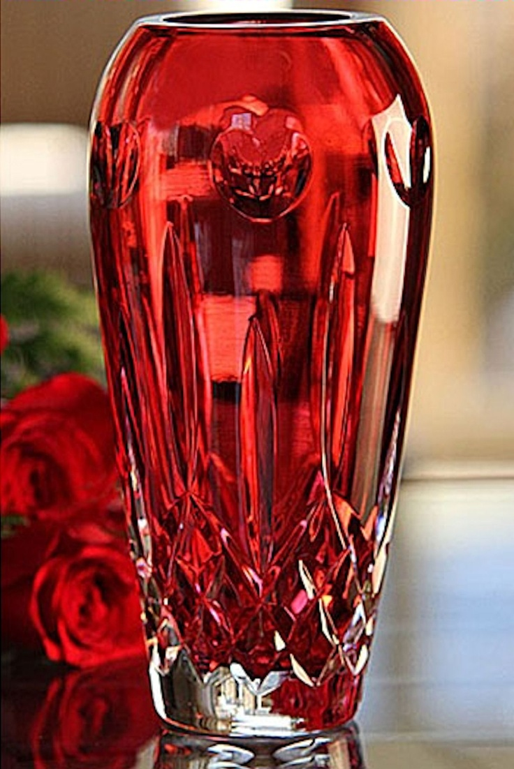 41 best mini vases images on pinterest bud human eye and knob waterford lismore i love lismore red bud vase crystal classics reviewsmspy