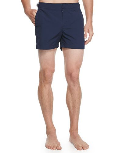 Orlebar+Brown+Setter+Short+Length+Swim+Trunks+Navy+|+Swimwear+and+Clothing