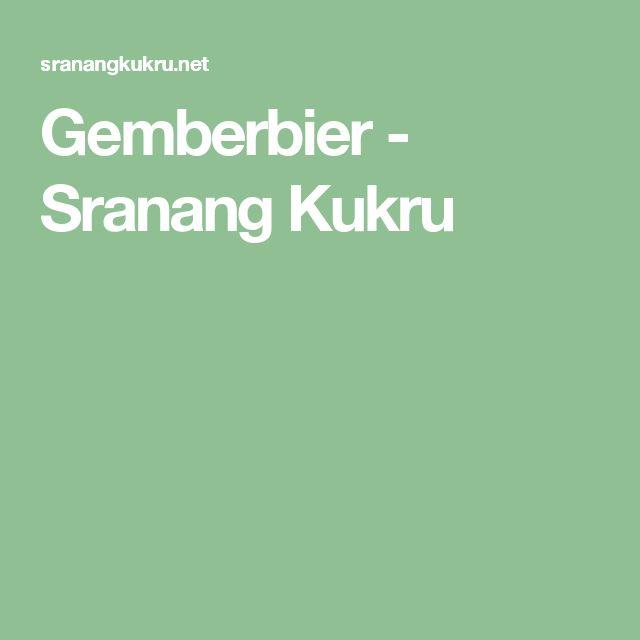 Gemberbier - Sranang Kukru