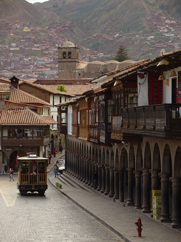 I have been on this streetcorner:) Cuzco, Peru