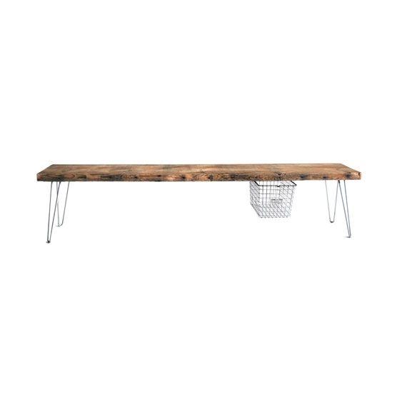 Rustic Bench - 5 ft | dotandbo.com