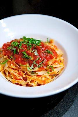 Tomato Tagliatelle: Thermomix Recipe