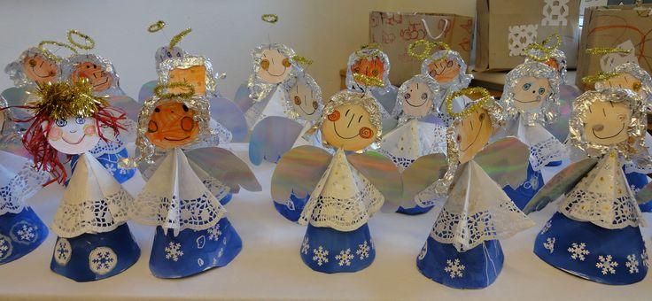 výrobky dětí na vánoce - Hledat Googlem: