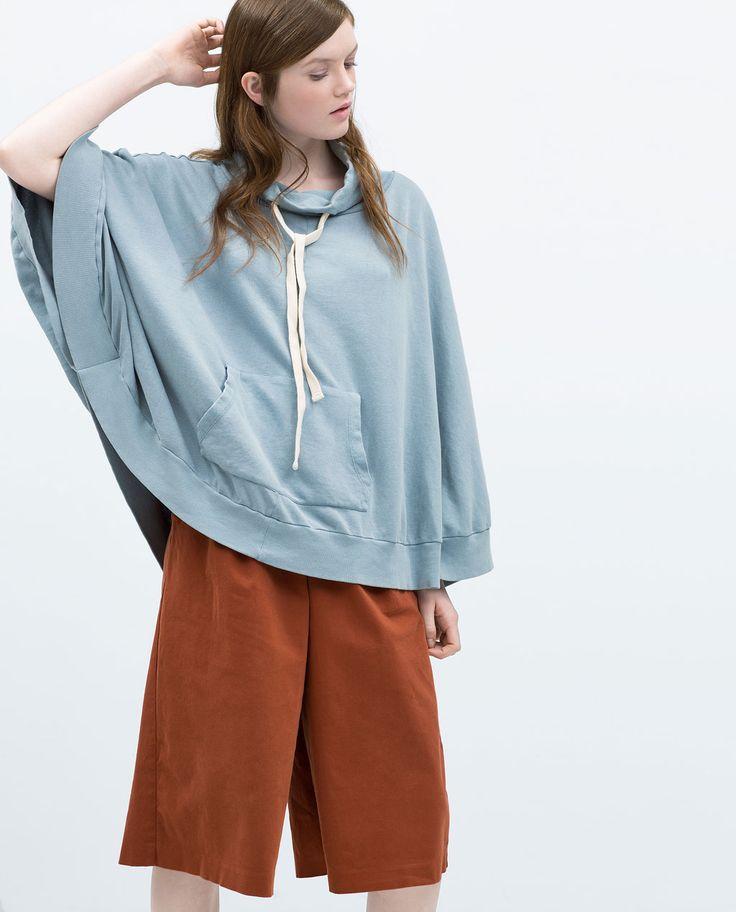 LAYERED SWEATSHIRT-Sweatshirts-WOMAN | ZARA United States