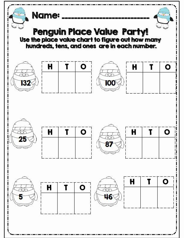 10+ Liveable hundreds tens and ones worksheets 2nd grade Useful