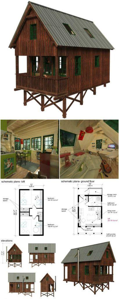 Ginger tiny house plans