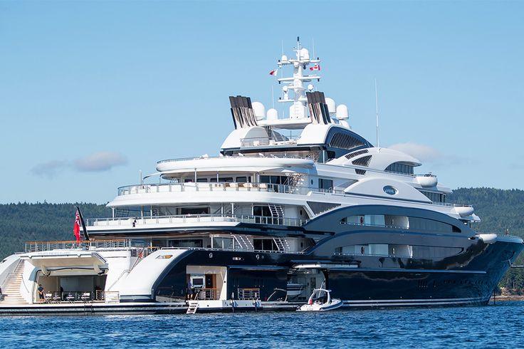Роскошные яхты российских миллиардеров