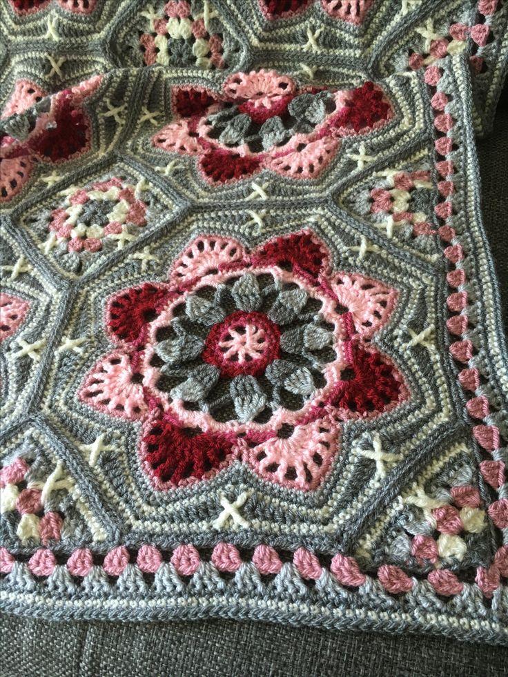 Persian tile deken