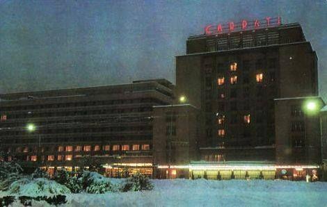 Hotel Carpati, anii '70