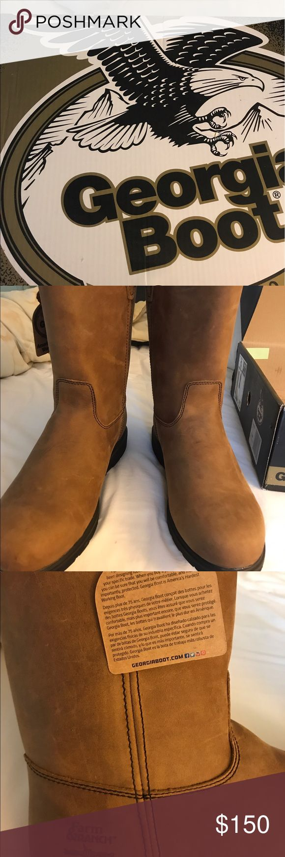Georgia Boots for Men size 13 Brand new with tags and in box size 13 Georgia Boots for men. Worn once to try on. Georgia Boot Shoes Cowboy & Western Boots
