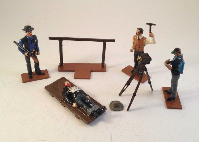 I just discovered this Hank Horn Wild West Death Of Billy The Kid on LiveAuctioneers and wanted to share it with you: www.liveauctioneers.com/item/43870053