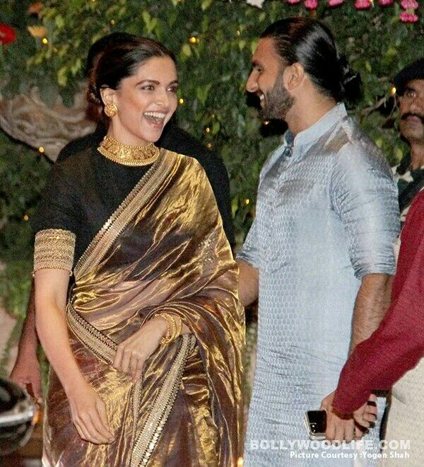 Deepika Padukone at Ambani's residence for Ganesh Chaturthi