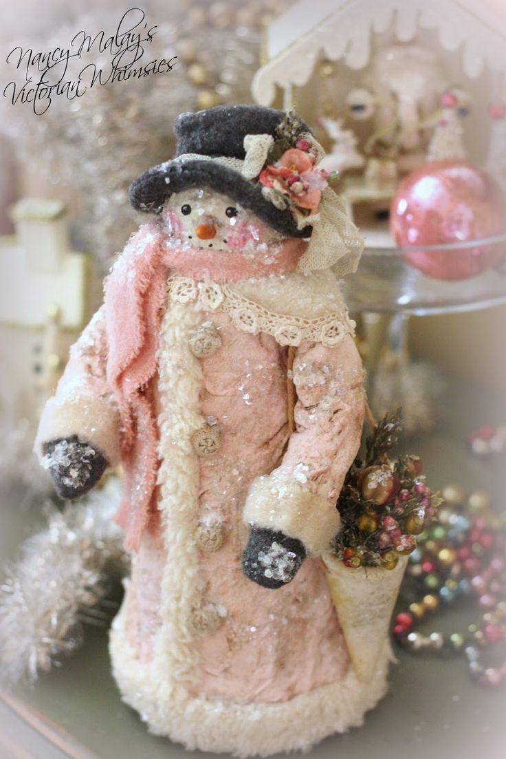 Nancy Malay's Victorian Whimsies sales page: Pink Frost