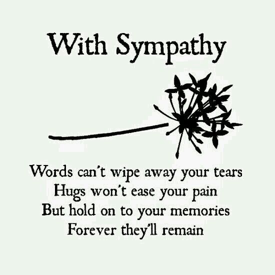 Best Symphaty Messages Images On   Sympathy Cards