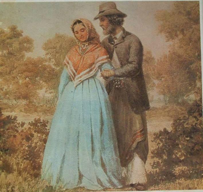 Pintura de Raimundo Q. Monvoisin.