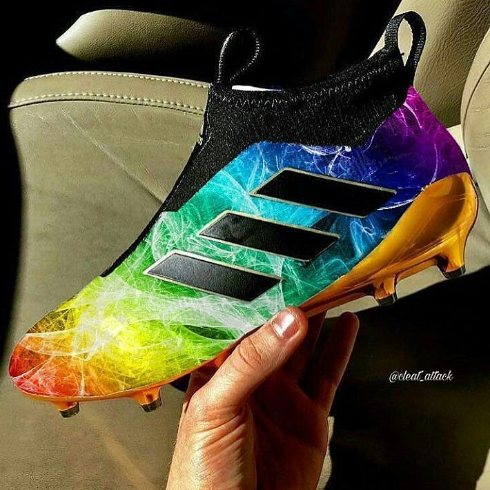 This is a crazy boot edit by @cleat_attack If these were real would you wear them?