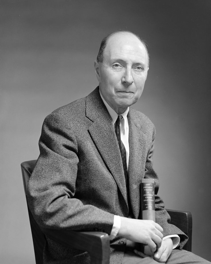 """Eugene Paul Wigner [Wigner Jenő Pál] (1902-1995)   Winner of the Nobel Prize in Physics in 1963 """"for his contributions to the theory of the atomic nucleus and the elementary particles, particularly through the discovery and application of fundamental symmetry principles""""   Birthplace: Budapest, Hungary"""
