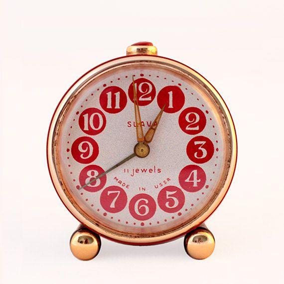 Small Glory Alarm Clock by ProsteRzeczy on Etsy, zł45.00