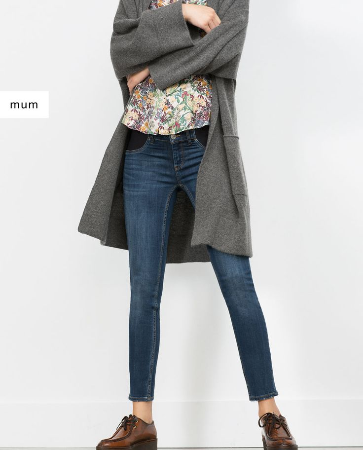 SKINNY MATERNITY JEANS-JEANS-Woman-COLLECTION SS16 | ZARA United States