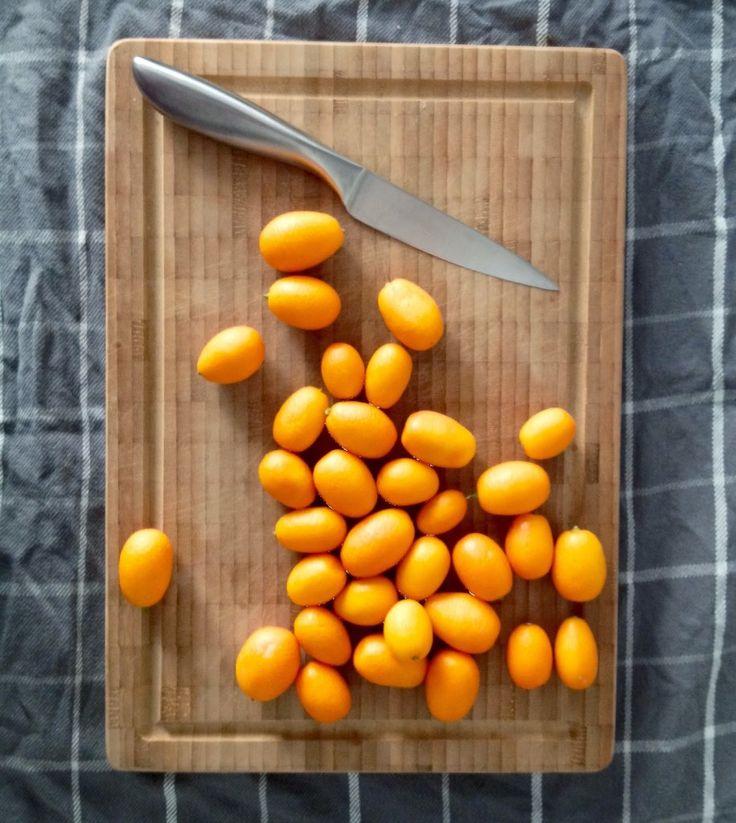 Homemade kumquat liqueur (& syrup)