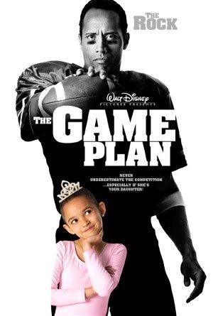 The Game Plan - Dwayne Johnson, Kyra Sedgewick, and Madison Pettis