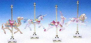 matchbox classical carousel horses
