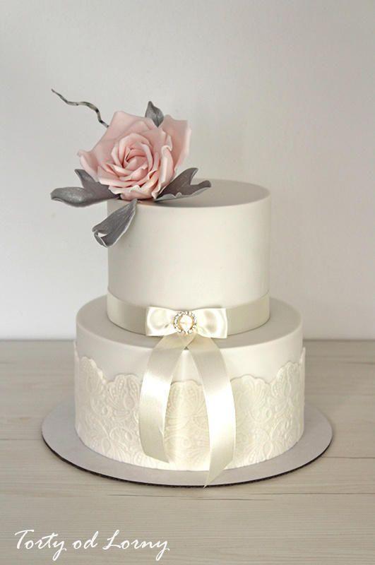 Wedding cake.. by Lorna - http://cakesdecor.com/cakes/274845-wedding-cake