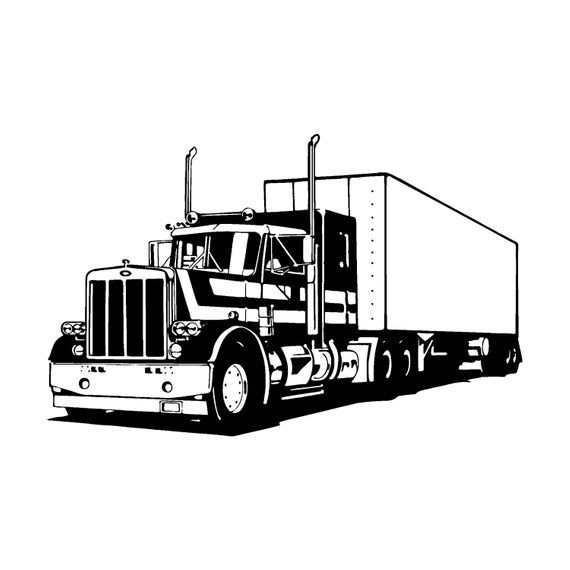 Heavy Truck Logo 3 Autobucket Of Boltsclunker Svg Eps Etsy Heavy Truck Truck Coloring Pages Trucks