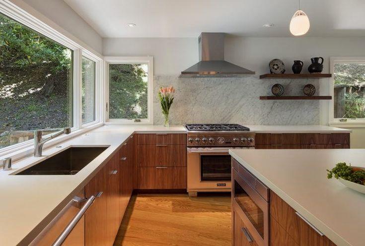 20 Beautiful Mid Century Modern Kitchen Designs Mid Century