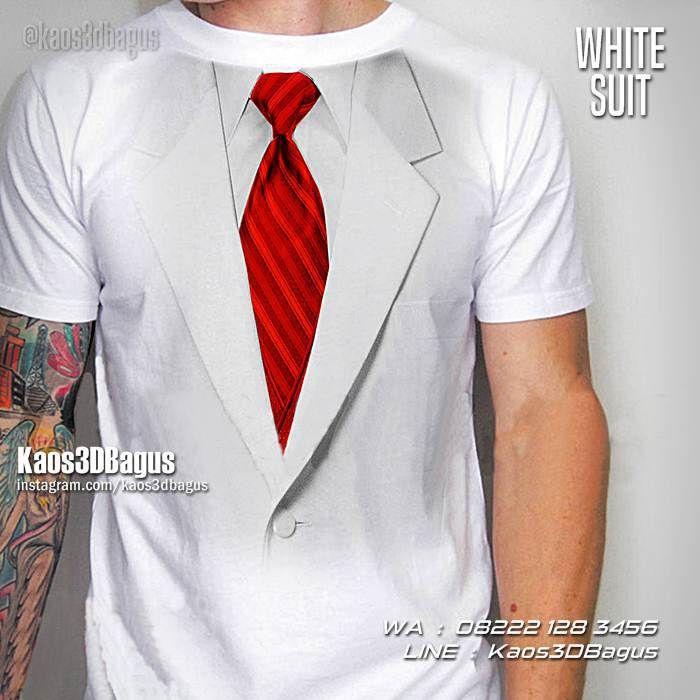 Kaos3D Gambar Jas, Kaos 3D Jas Putih, Kaos3D Tema Fashion, Kaos 3 Dimensi, Kaos3DMurah, Grosir Kaos3D, https://instagram.com/kaos3dbagus, WA : 08222 128 3456, LINE : Kaos3DBagus