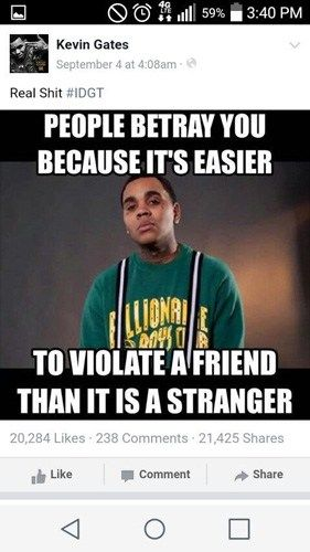 Kevin Gates Quotes Extraordinary The 25 Best Kevin Gates Quotes Ideas On Pinterest  Kevin Gates