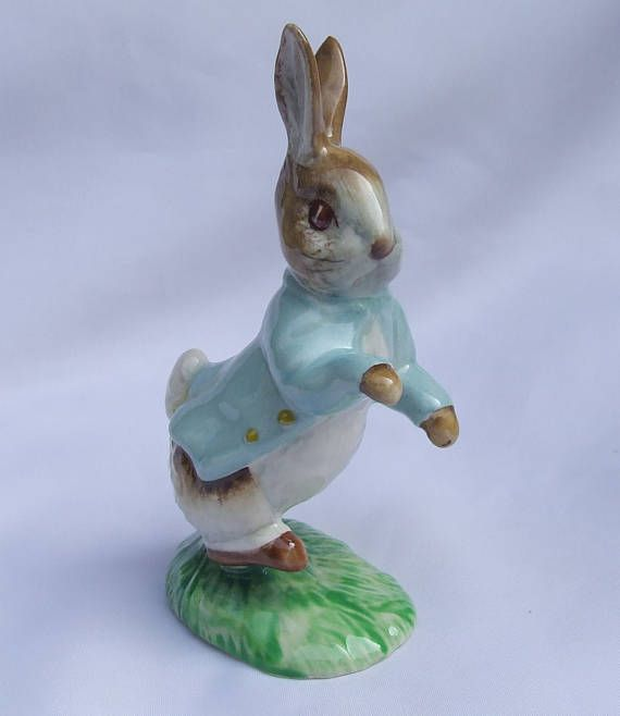 Vintage Beswick Beatrix Potter Peter Rabbit Figurine BP3C