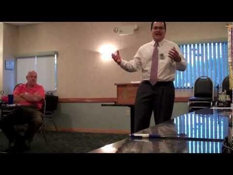 Brian C - Toastmasters Humorous Speech Contest Winner - Club Level - YouTube