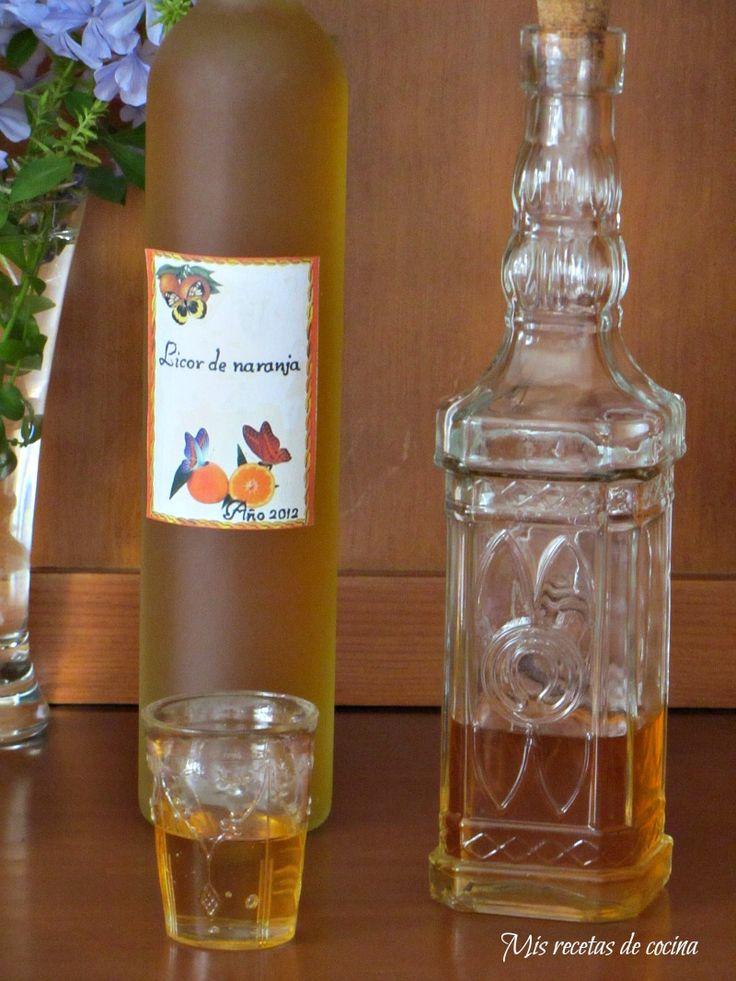 Licor de naranja Más