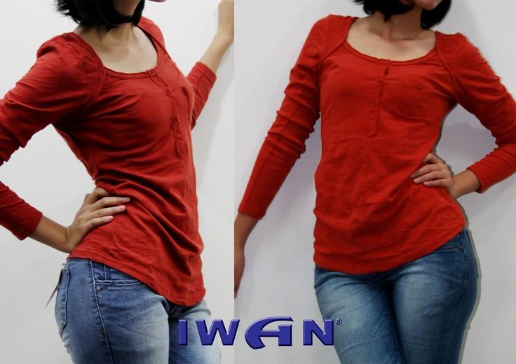 New Arrivals !!  Flies Shirt   Size : S, M, L Color : Red