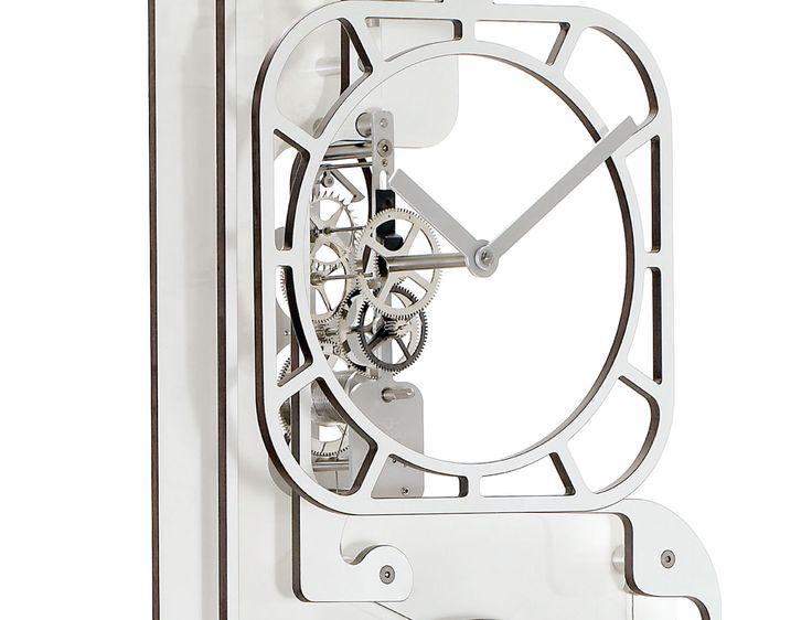 Amazing horloges comtoises design moderne utinam besanon - Grande horloge murale blanche ...