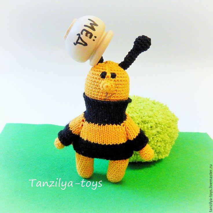 Купить Пчела по имени Пчёл - сувениры и подарки, сувенир в подарок, игрушка, игрушка для детей