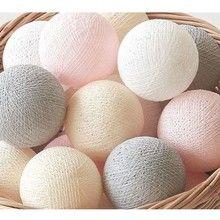 DaWanda ŚWIECĄCE KULE Cotton Ball Lights 35 szt. (86177023)