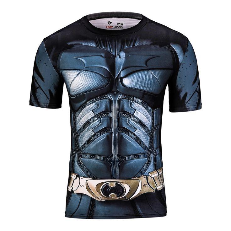 2016 KO horse press ion shirt 3D marvel superhero punisher captain America superman T-shirt fitness S trump symbol o Mori basis