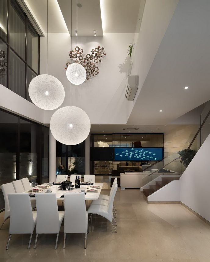 Modern Luxurious Dining Room Design Ideas