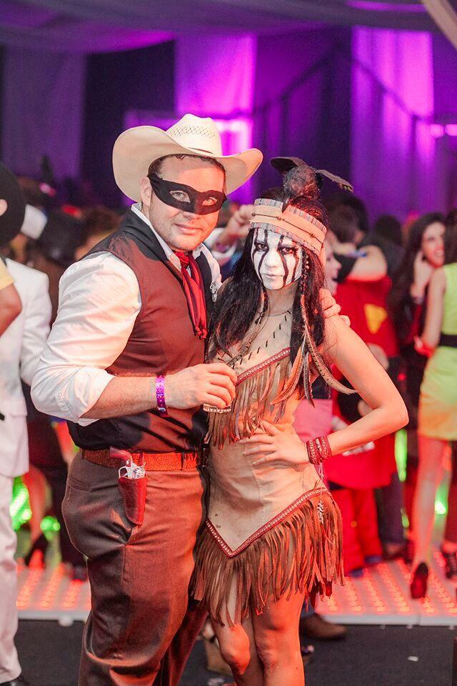 Lone ranger costume - couple costume
