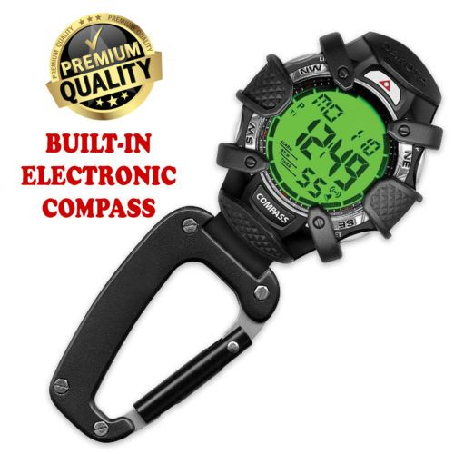 Clip-Watch-digital-watch-military-watch-for-outdoor-w-Electronic-Compass-amp-light