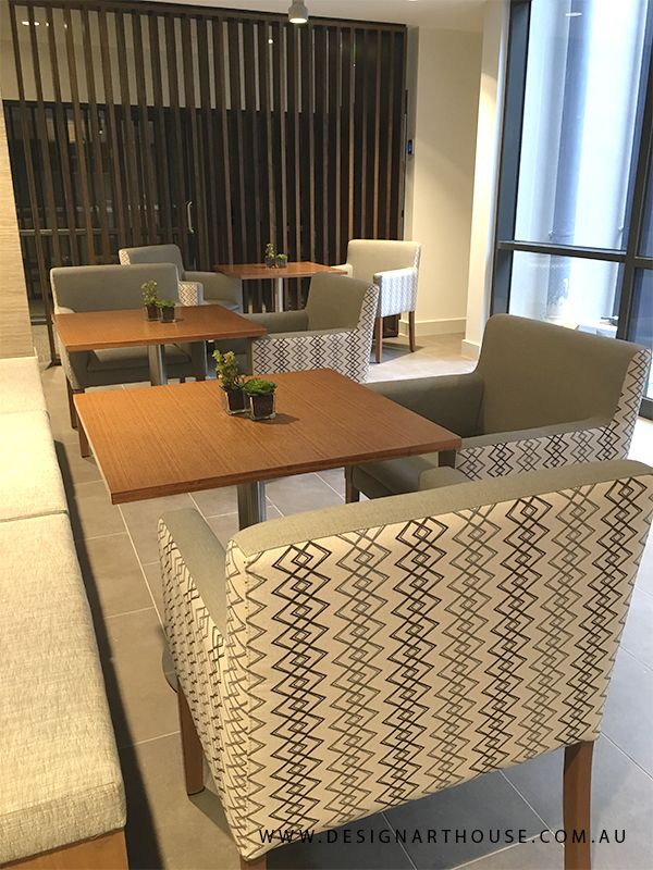Aged Care Cafe with custom dining chairs